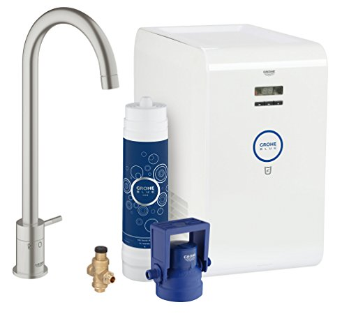 Grohe Blue Mono Pure Cool supersteel, 31384DC0