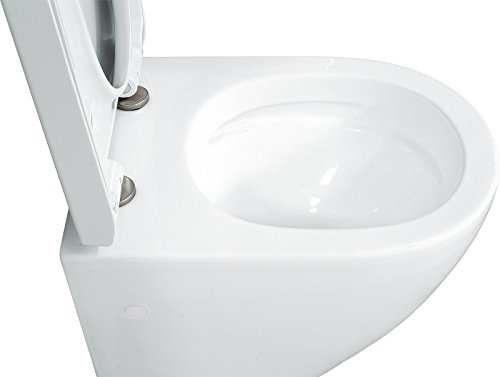 LAVITA KERAMIK HÄNGE-WC-TOILETTE #92035 SPÜLRANDLOS + SOFT-CLOSE - 7
