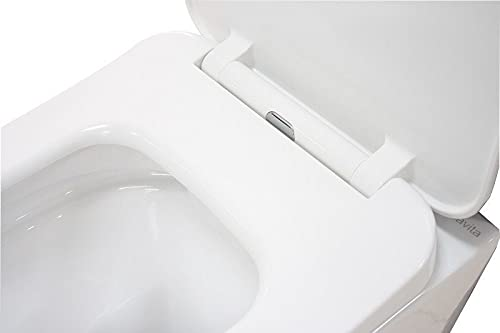 LAVITA KERAMIK HÄNGE-WC-TOILETTE #99870 SPÜLRANDLOS + SOFT-CLOSE SLIM - 4