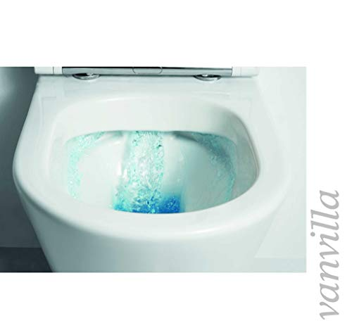 vanvilla Design Hänge WC Spülrandlos rimless + Hänge Bidet SET Luanda, inklusive Soft-Close - 7
